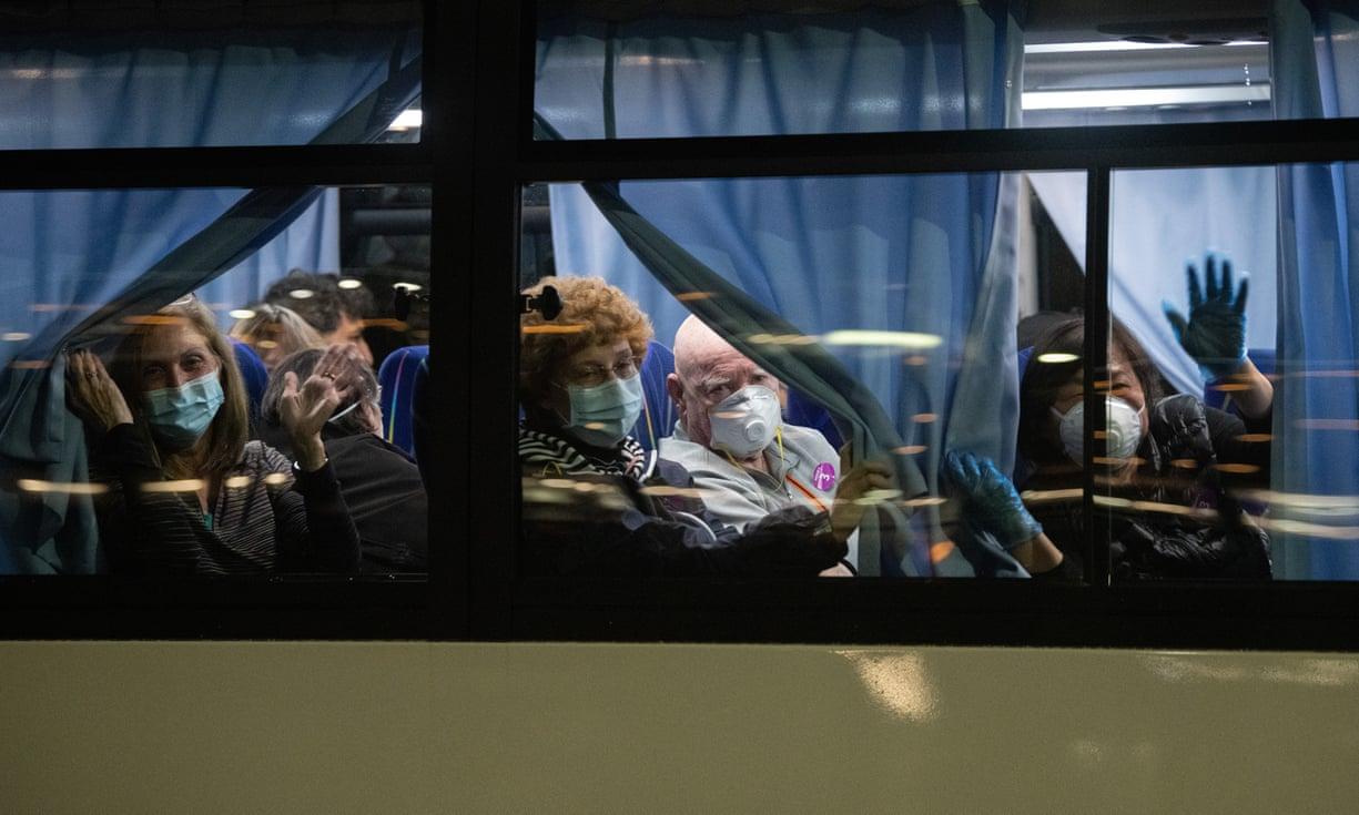 quarantine on bus